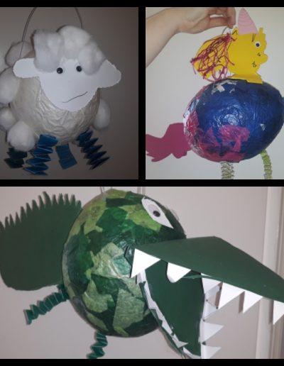 Laternenbasteln im Montessori-kiga Mettmann